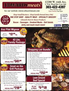 Sept 2021 Edwards Meats Coupons